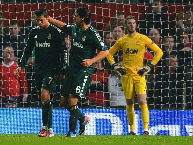 MANCHESTER UNITED 1 - REAL MADRID 2
