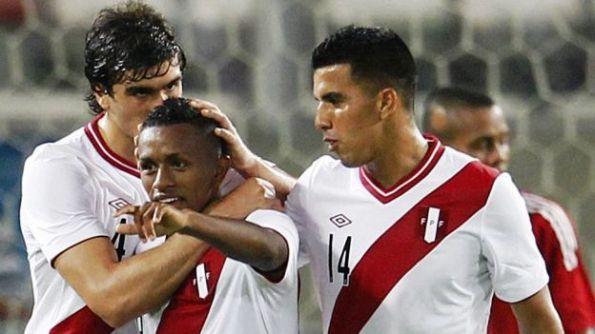 PERU 3 - TRINIDAD Y TOBAGO 0