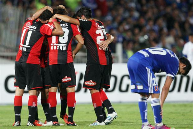 U DE CHILE 0 - NEWELLS OLD BOYS 3