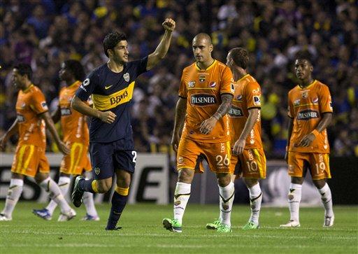 Copa Libertadores 2013: Boca Juniors vs Barcelona [FIN DEL PARTIDO] | Mejor hablar de ciertas cosas...