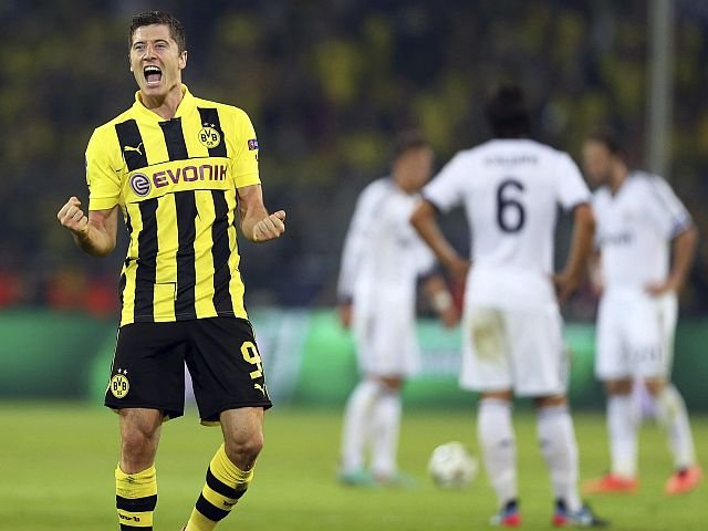 BORUSSIA DORTMUND 4 - REAL MADRID 1
