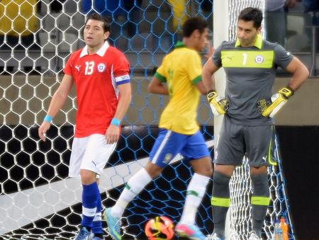 BRASIL 2 - CHILE 2