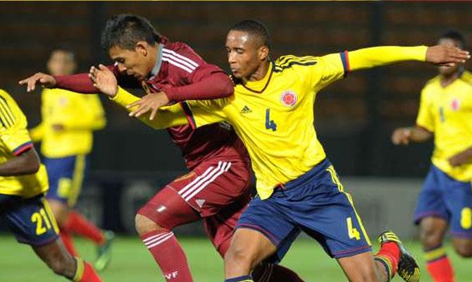 COLOMBIA 0 - VENEZUELA 0 SUB 17 2013