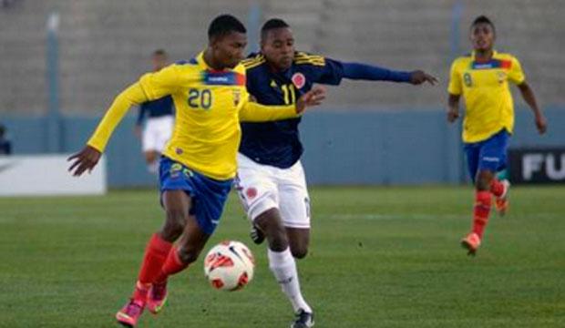 ECUADOR 0 - COLOMBIA 0 SUB 17 2013