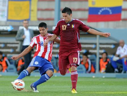 PARAGUAY 0 - VENEZUELA 1