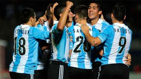 PERU 0 - ARGENTINA 2