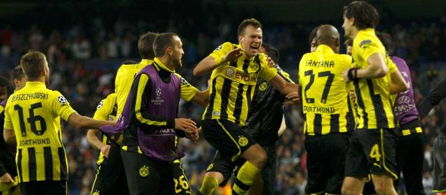 REAL MADRID 2 - BORUSSIA DORTMUND 0
