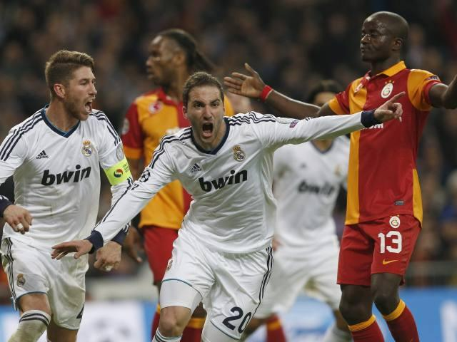 REAL MADRID 3 - GALATASARAY 0