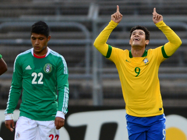 MEXICO 0 - BRASIL 1