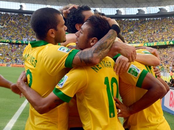 BRASIL 2 - MEXICO 0