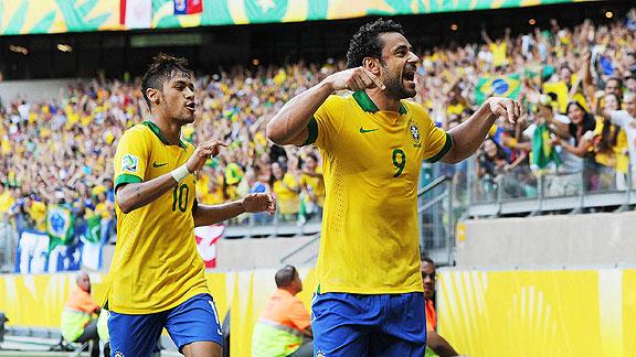 BRASIL 2 - URUGUAY 1