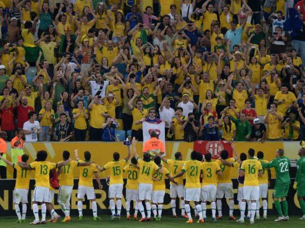 BRASIL 3 - ESPAÑA 0