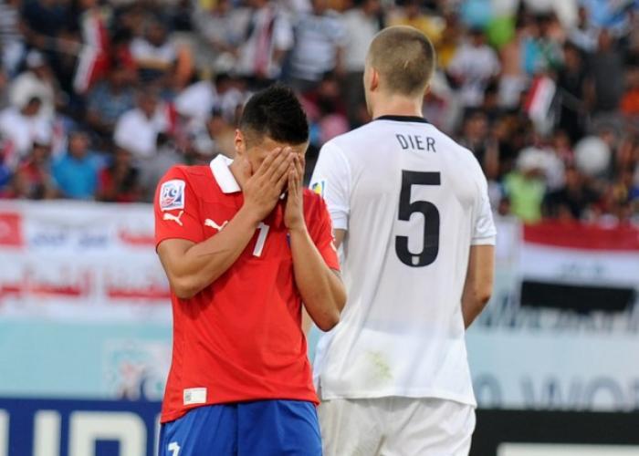 CHILE 1 - INGLATERRA 1