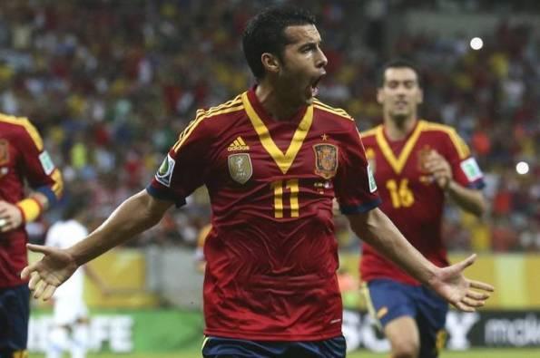 ESPAÑA 2 - URUGUAY 1