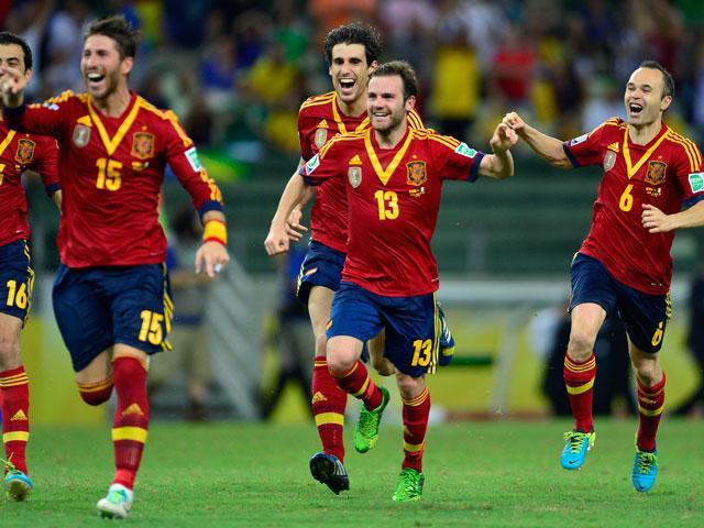 ESPAÑA A LA FINAL DE LA COPA CONFEDERACIONES 2013