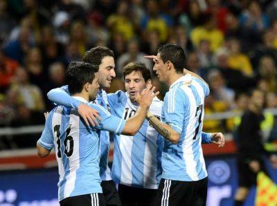 GUATEMALA 0 - ARGENTINA 4