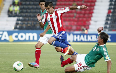 MEXICO 0 - PARAGUAY 1