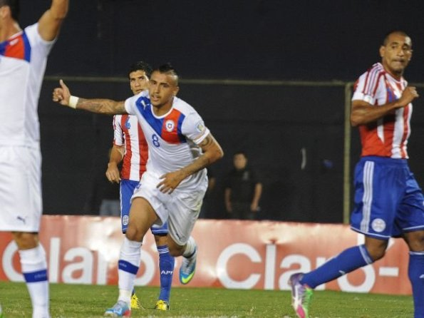 PARAGUAY 1 - CHILE 2