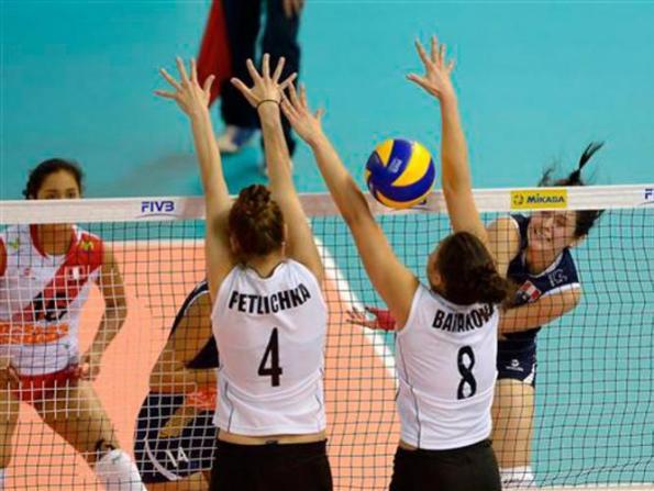 PERU 0 - BULGARIA 3