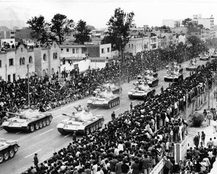 DESFILE MILITAR PERU 1974