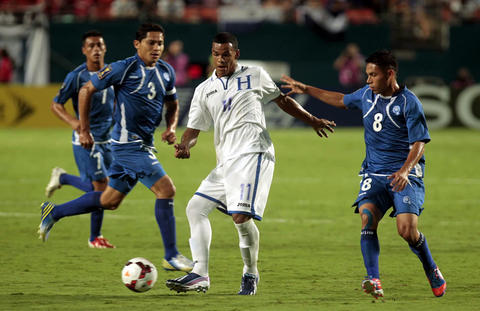 HONDURAS 1 - EL SALVADOR 0