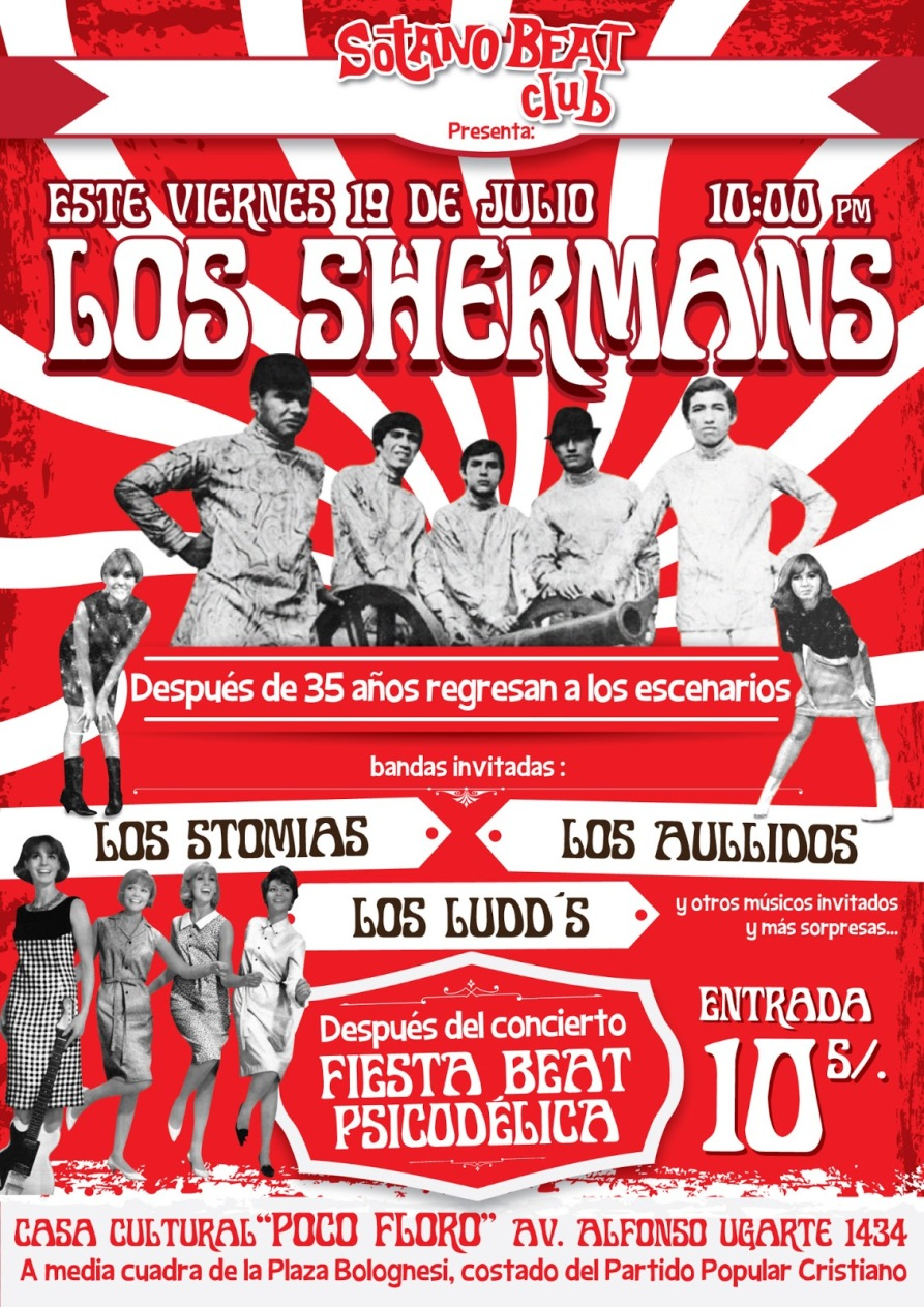 LOS SHERMANS CONCIERTO ARTURO VIGIL
