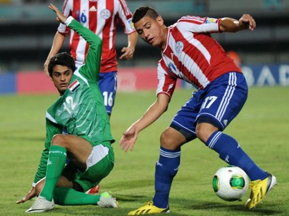 PARAGUAY 0 - IRAK 1