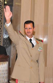 BASHAR AL ASSAD SIRIA