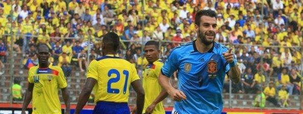 ECUADOR 0 - ESPAÑA 2