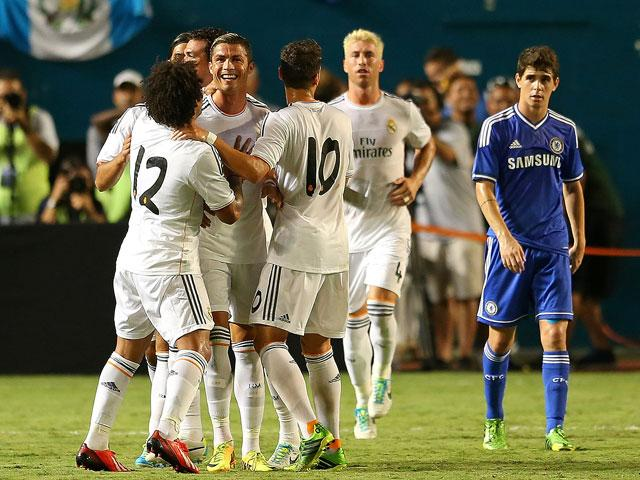 REAL MADRID 3 - CHELSEA 1