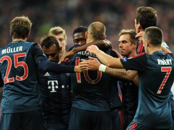 BAYERN MUNICH 3 - CSKA MOSCU 0