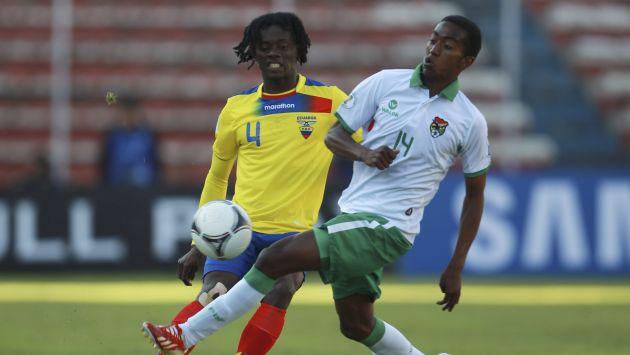 BOLIVIA 1 - ECUADOR 1