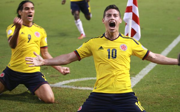 COLOMBIA 1 - ECUADOR 0