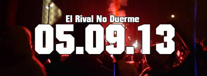 EL RIVAL NO DUERME