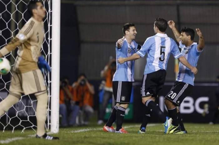 PARAGUAY 2 - ARGENTINA 5