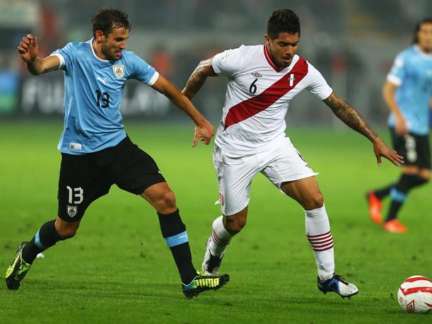 PERU 1 - URUGUAY 2