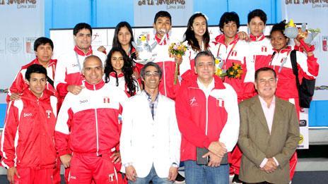 PERU CAMPEON TAEKWONDO