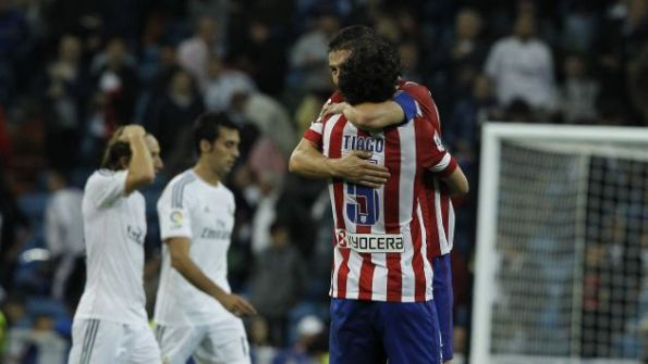REAL MADRID 0 - ATLETICO DE MADRID 1
