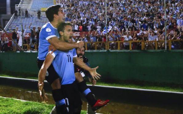 URUGUAY 2 - COLOMBIA 0