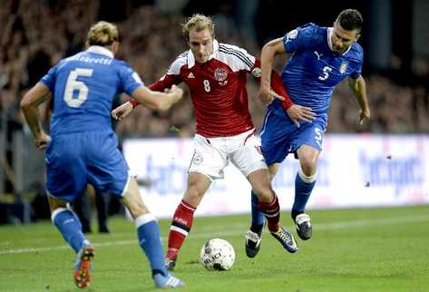 DINAMARCA 2 - ITALIA 2