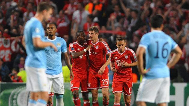 MAN CITY 1 - BAYERN MUNICH 3