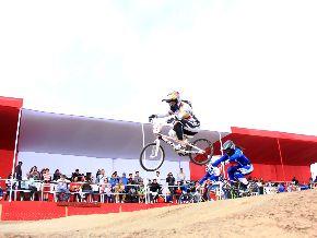 PERU MEDALLA DE ORO BMX