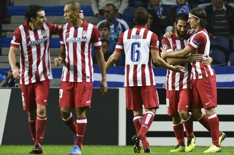 PORTO 1 - ATLETICO DE MADRID 2