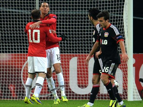bayer leverkusen 0 - manchester united 5