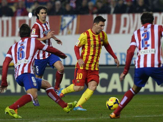 atletico de madrid 0 barcelona 0