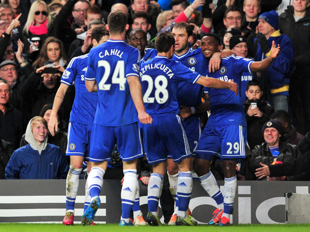 CHELSEA 3 MANCHESTER UNITED 1