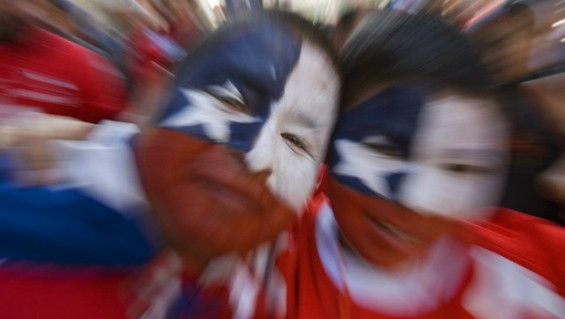 chilenos y la haya