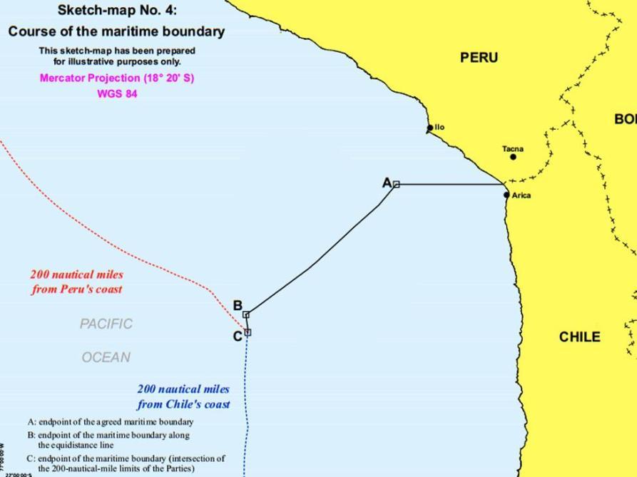 FALLO DE LA HAYA PERU CHILE