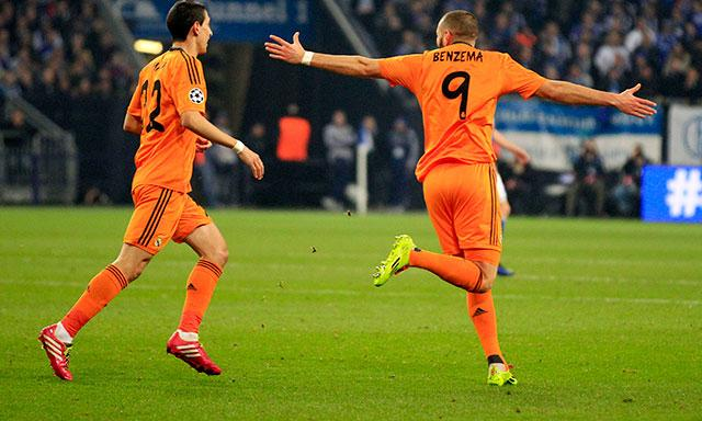 schalke real madrid
