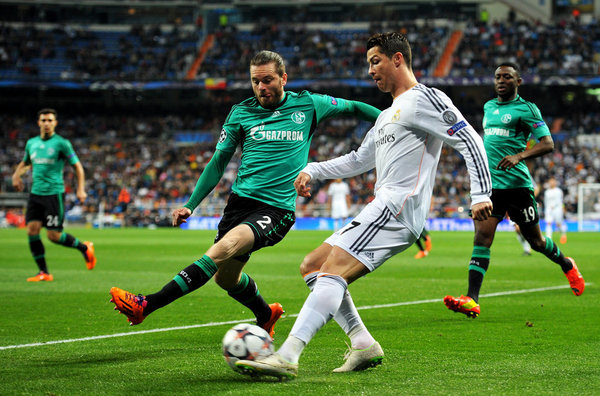 real madrid schalke 04